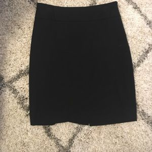 The limited collection black pencil skirt